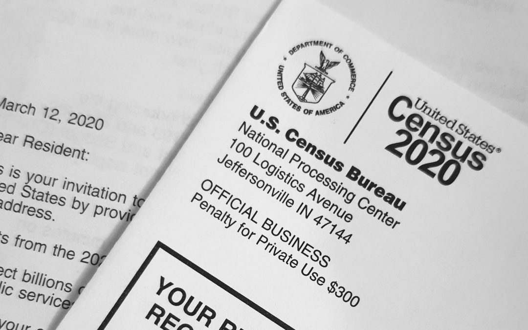 Census Day was April 1st, 2020!